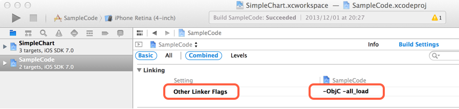 Other Linker Flags