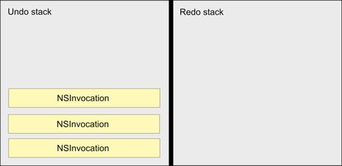 undo stack