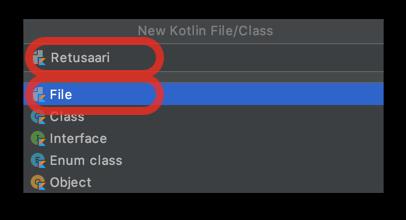 Kotlin File